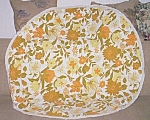 Vintage Round Printed Table Cloth Autumn Colors
