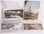 4 Real Photo Postcards