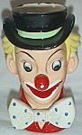 Vintage Napcoware Clown Head Vase C3321 Free Shipping