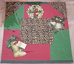 Old Time Christmas Original Pre-made Scrapbooking Page