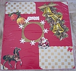 One Of A Kind Pre-made Scrapbooking Pages Vintage Christmas
