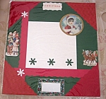 Victorian Christmas Pre-made Scrapbooking Memory Pages