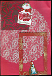 Christmas Girl, Santa Scrapbooking Set One Of A Kind