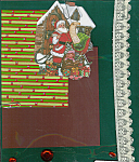 Christmas Santa Claus Scrapbooking Set One Of A Kind