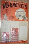 Vintage No-knots Eyelet Lure Display Card