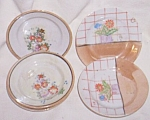 6 Porcelain Child's Plates