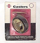 6 New Faultless Furniture Casters Wheels Non Mark 3 In.