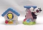 Looney Tunes Tweety & Sylvester Salt And Pepper Shakers