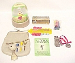 Lot 7 Golf Golfing Ball Ice Cubes Snow-dome Bag Charm