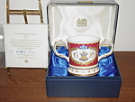 Princess Diana & Prince Charles Coalport #217 Cup