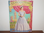 Queen Elizabeth Coronation Paper Dolls/ Coloring Book