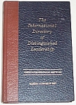 1986 International Directory Of Distinguished Leadership #41 Hoy