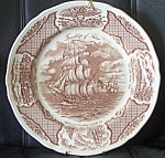 Alfred Meakin Fair Winds Friendship Of Salem Dinner Plate 10.5 In