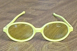 Kono Usa Sunglasses Laminated Yellow Thermoplastic