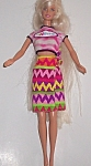 Barbie Doll Wearing Nsync Shirt W/genuine Barbie Label