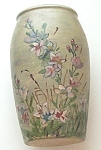 Studio Unsigned Hand Painted Pottery Vase 7.75""
