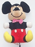 Disney Mickey Mouse Velour Plush 6.5 In. Wdp