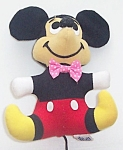 Disney Mickey Mouse Velour Plush 6 In. Wdp