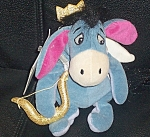 Cupid Eeyore Rare Wdc Disney Store Mini Bean Bag 9""