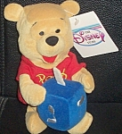 Hanukkah Pooh Rare Wdc Disney Store Mini Bean Bag 8""