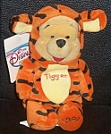 "Pooh As Tigger Wdc Disney Store Mini Bean Bag 8"""