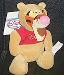 "Tigger As Pooh Wdc Disney Store Mini Bean Bag 8"""