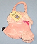 North American Bear Pink Poodle Goody Bag Purse Mwmt 2004