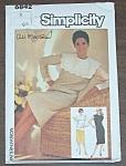 Ali Mcgraw Cover Simplicity Pattern #6842 Uncut 1985