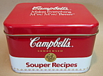 Campbell's Soup Recipe Tin
