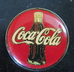 Coca Cola Pin Back