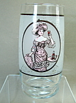 Pepsi Gibson Girl Glass
