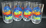 Pepsi Diet Glass Set