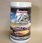 Budweiser Air Force Mug