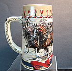 Budweiser Traditional Houses / Horses Stein