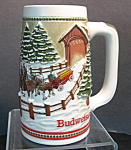Budweiser Covered Bridge Stein