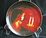 Donald Zolan Candlelight Magic Collector Plate