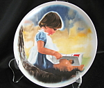 Donald Zolan By Myself Collector Plate