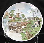 Royal Schwabab Holland Milk Farm Collector Plate