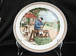 Royal Schwabab Holland Shoe Maker Collector Plate