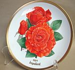 American Rose Society Impatient Collector Plate