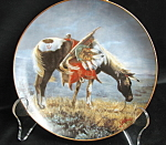 Perillo A Sioux War Pony Collector Plate