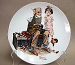 Rockwell The Cobbler Collector Plate