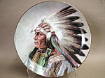 Perillo Courage Of The Arapaho Collector Plate