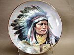 Perillo Pride Of The Blackfoot Collector Plate