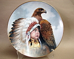 Perillo Protector Of The Plains Collector Plate