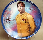 Ernst Captain Kirk Star Trek Collector Plate