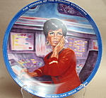 Ernst Uhura Star Trek Collector Plate
