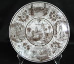 Enco National Hearst Castle Collector Plate