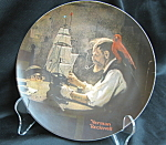 Rockwell The Ship Builder Collector Plate