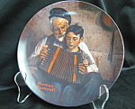Rockwell The Music Maker Collector Plate